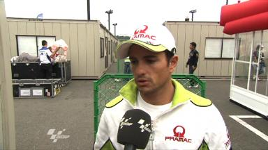 Motegi 2011 - MotoGP - Race - Interview - Randy De Puniet