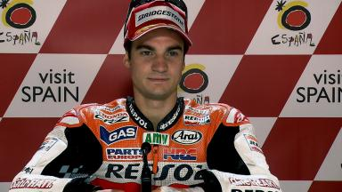 Motegi 2011 - MotoGP - Race - Interview - Dani Pedrosa