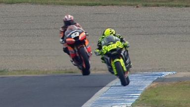 Motegi 2011 - Moto2 - Race - Action - Marc Marquez
