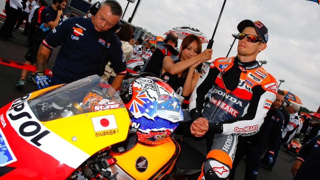 Casey Stoner, Repsol Honda, Motegi RAC
