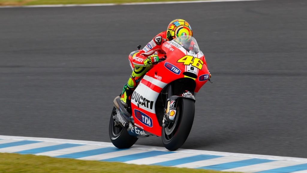 Valentino Rossi, Ducati Team, Motegi RAC