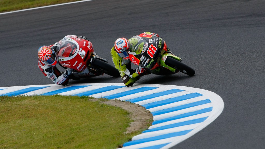 Nico Terol, Johann Zarco, Bankia Aspar Team 125cc, Avant-AirAsia-Ajo, Motegi RAC