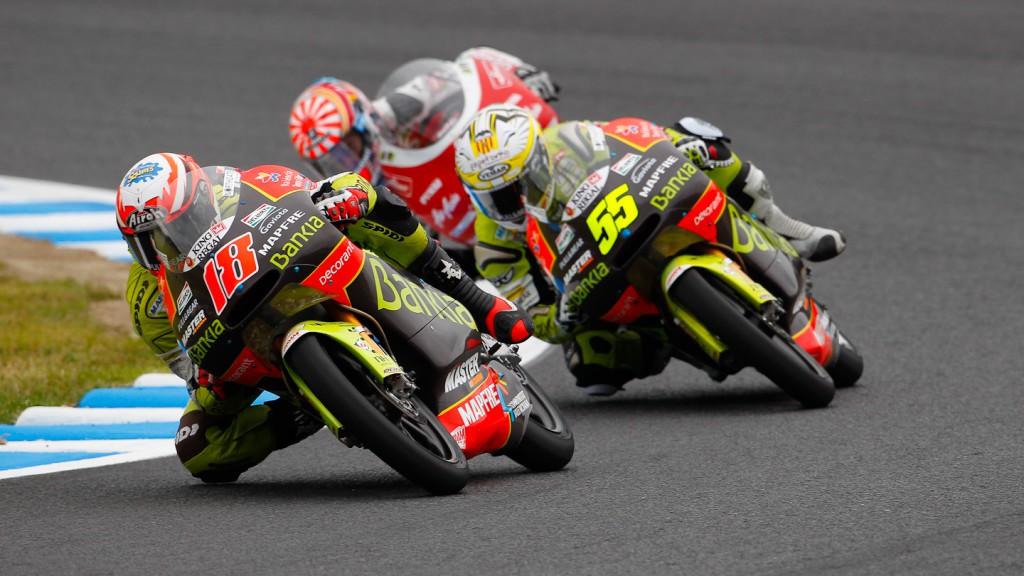 Nico Terol, Hector Faubel, Bankia Aspar Team 125cc, Motegi RAC