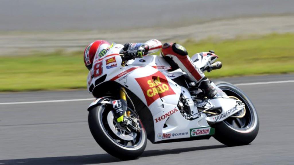 Marco Simoncelli, San Carlo Honda Gresini, Motegi Test