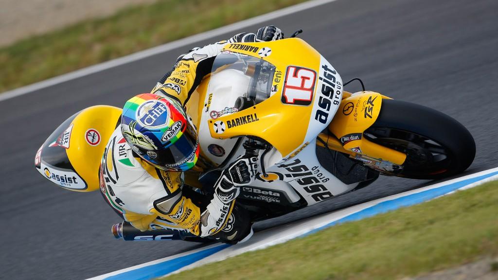 Alex De Angelis, JIR Moto2, Motegi RAC