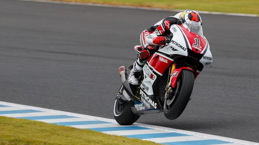 Jorge Lorenzo, Yamaha Factory Racing, Motegi FP3