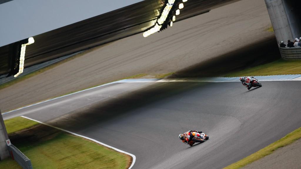 Pedrosa, Lorenzo, Repsol Honda Team, Yamaha Racing Team, Motegi RAC