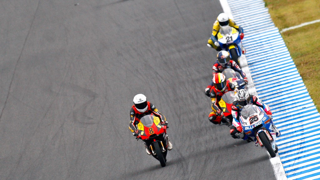 Maverick Viñales, Jack Miller, Blusens by Paris Hilton, Caretta Technology, Motegi RAC
