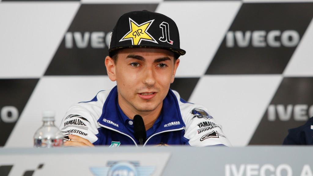 Jorge Lorenzo, Iveco Australian Grand Prix Press Conference