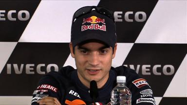 Pedrosa ready for battle for third