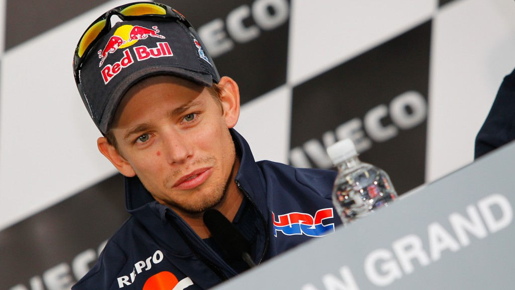 Casey Stoner, Iveco Australian Grand Prix Press Conference