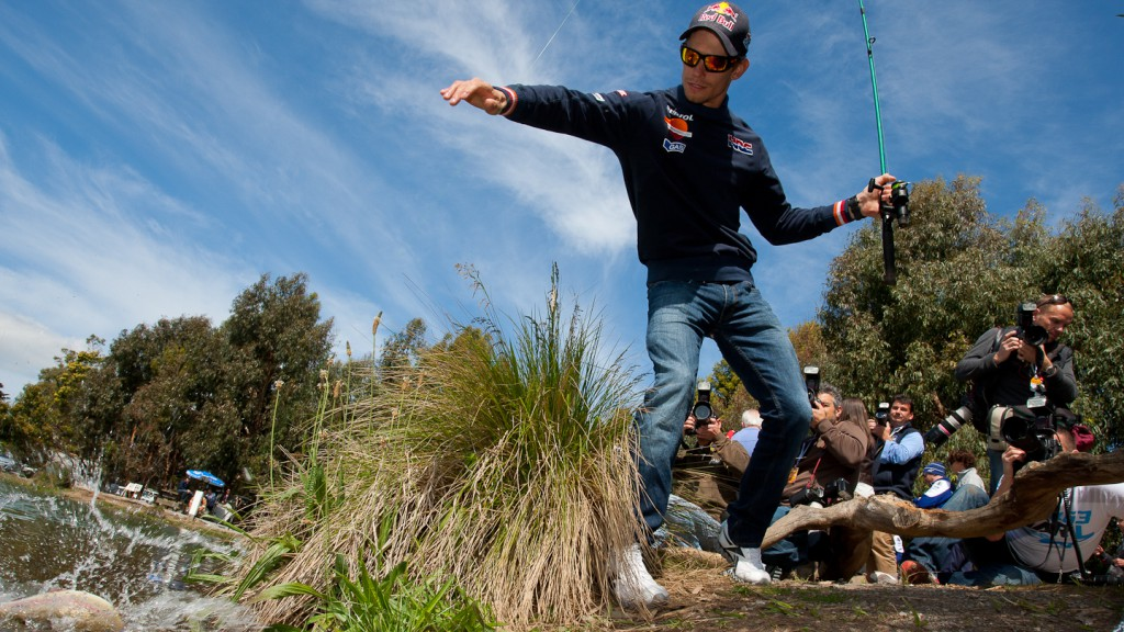 Casey Stoner, Rhyll Trout and Bush Tucker Farm, Phillip Island