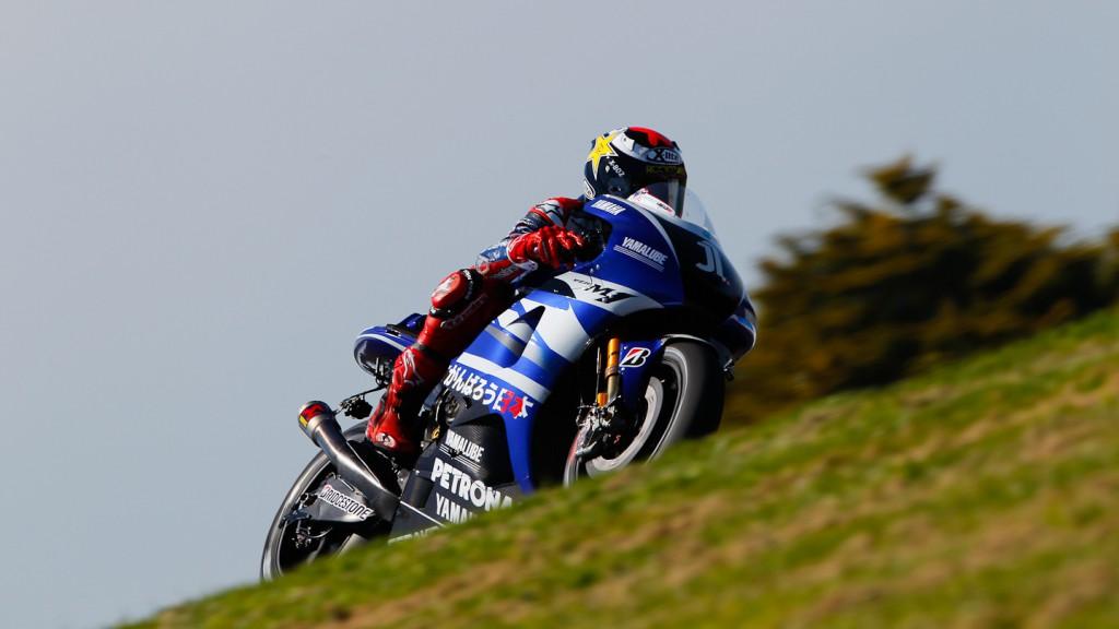 Jorge Lorenzo, Yamaha Factory Racing, Phillip Island FP2