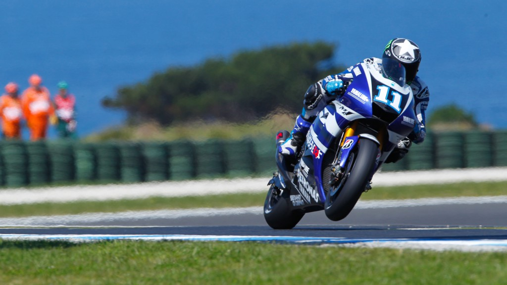 Ben Spies, Yamaha Factory Racing, Phillip Island FP2