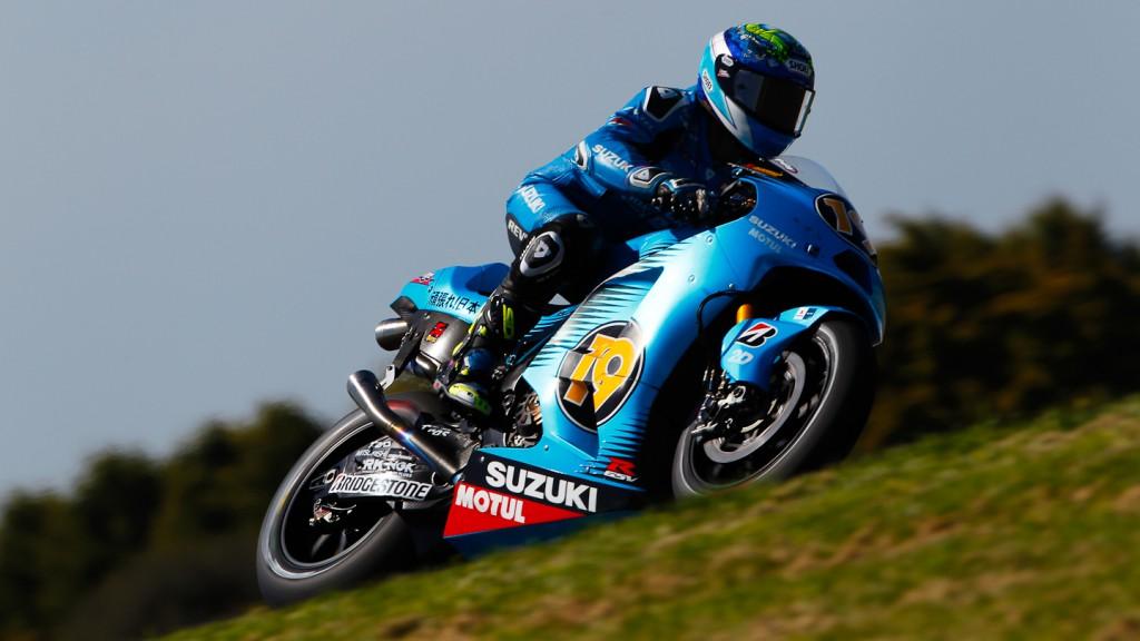 Alvaro Bautista, Rizla Suzuki MotoGP, Phillip Island FP2