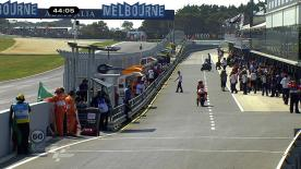 Casey Stoner kept the rest of the field at bay once again on Friday at Phillip Island, leading the times from start to finish to close the first day of practice nearly three tenths of a second clear of Jorge Lorenzo, with Marco Simoncelli third.