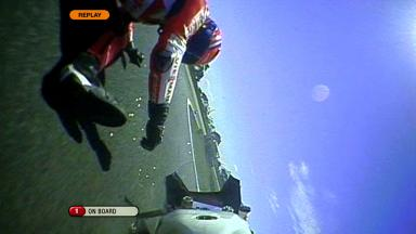 Phillip Island 2011 - Moto2 - FP1 - Action - Stefan Bradl - Crash