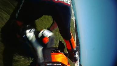 Phillip Island 2011 - Moto2 - FP1 - Action - Marc Márquez - Crash