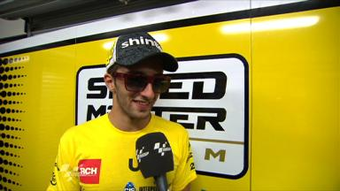 Iannone quick from start