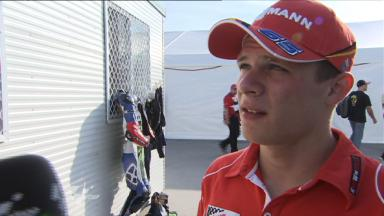 Bradl pleased with initial feeling
