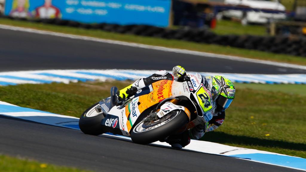 Toni Elias, LCR Honda MotoGP, Phillip Island FP2