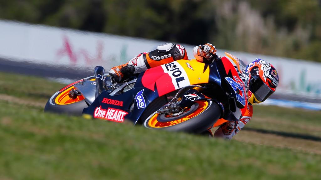 Casey Stoner, Repsol Honda, Phillip Island FP2