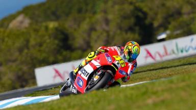 Valentino Rossi, Ducati Team, Phillip Island FP2