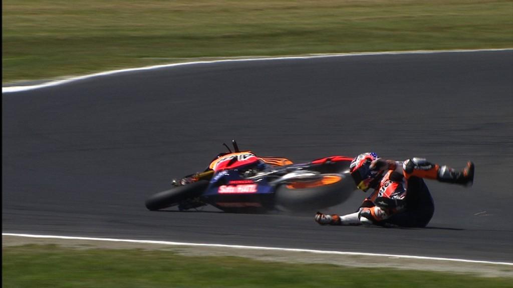 Casey Stoner, MotoGP FP1
