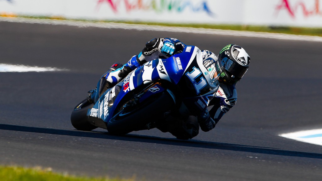 Ben Spies, Yamaha Factory Racing, Phillip Island FP3