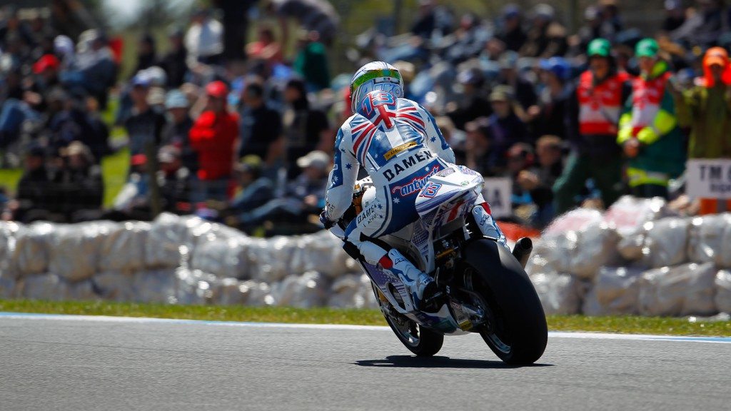 Anthony West, MZ Racing Team, Phillip Island QP