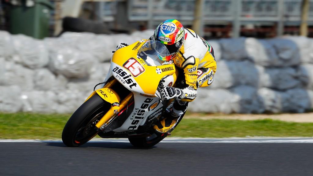 Alex de Angelis, JiR Moto2, Phillip Island FP3
