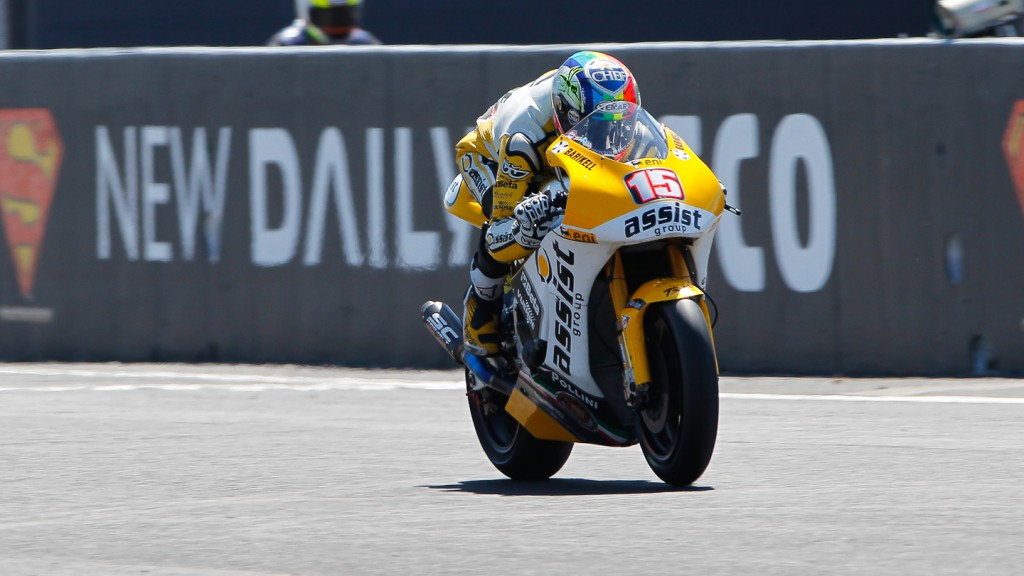 Alex de Angelis, JiR Moto2, Phillip Island QP