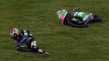 Phillip Island 2011 - 125cc - QP - Action - Luis Salom - Crash