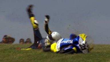 Phillip Island 2011 - 125cc - QP - Action - Harry Stafford - Crash
