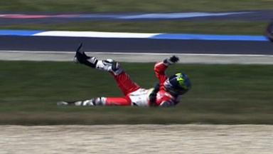Phillip Island 2011 - MotoGP - FP3 - Action - Damian Cudlin - Crash