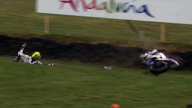 Phillip Island 2011 - MotoGP - QP - Action - Karel Abraham - Crash