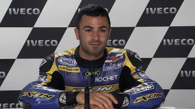Phillip Island 2011 - Moto2 - QP - Interview - Mike Di Meglio