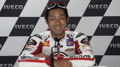 Phillip Island 2011 - Moto2 - QP - Interview - Yuki Takahashi