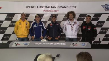 Iveco Australian GP QP Press Conference