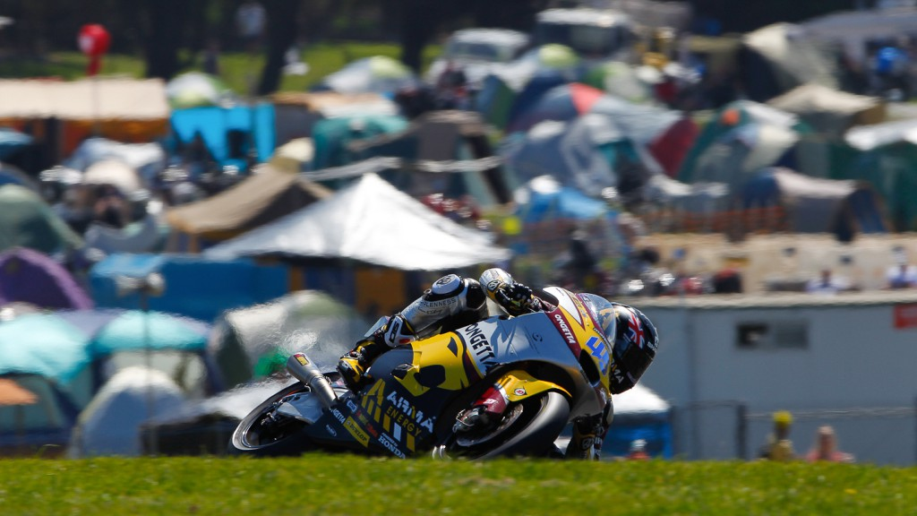 Scott Redding, Marc VDS Racing Team, Phillip Island QP