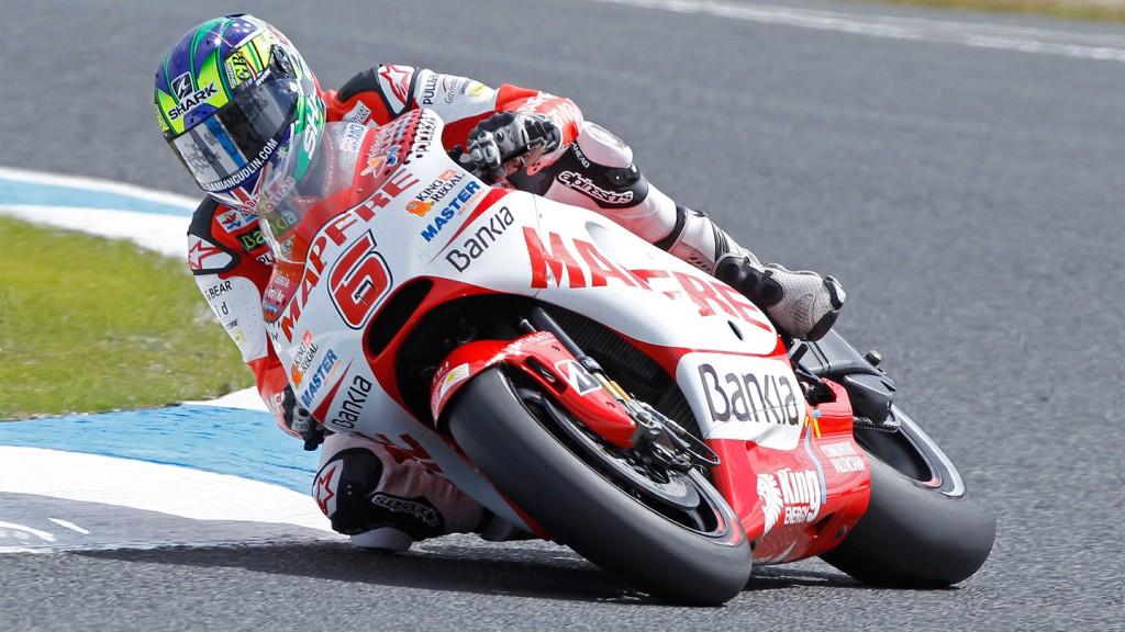 Damian Cudlin, Mapfre Aspar Team MotoGP, Phillip Island QP