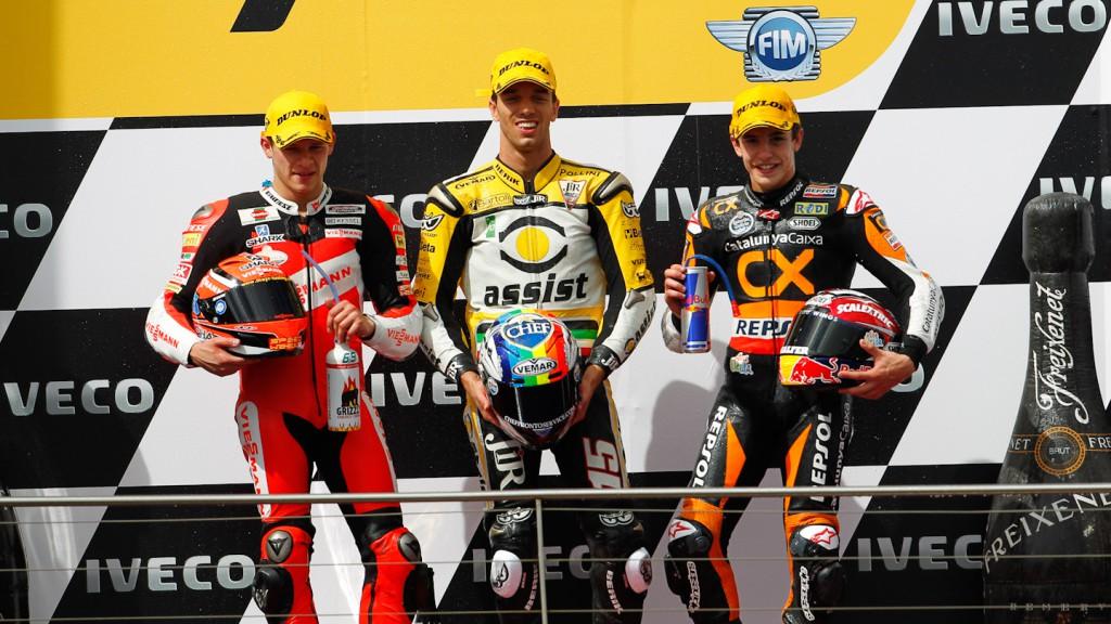 Bradl, De Angelis, Marquez, Viessmann Kiefer Racing, JiR Moto2, Team CatalunyaCaixa Repsol, Phillip Island RAC