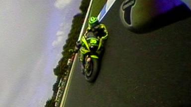 Phillip Island 2011 - MotoGP - Race - Action - Aoyama and Crutchlow - Crash