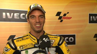 De Angelis repeats Australian Moto2 win