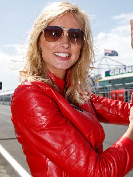 Paddock Girl Iveco Australian Grand Prix