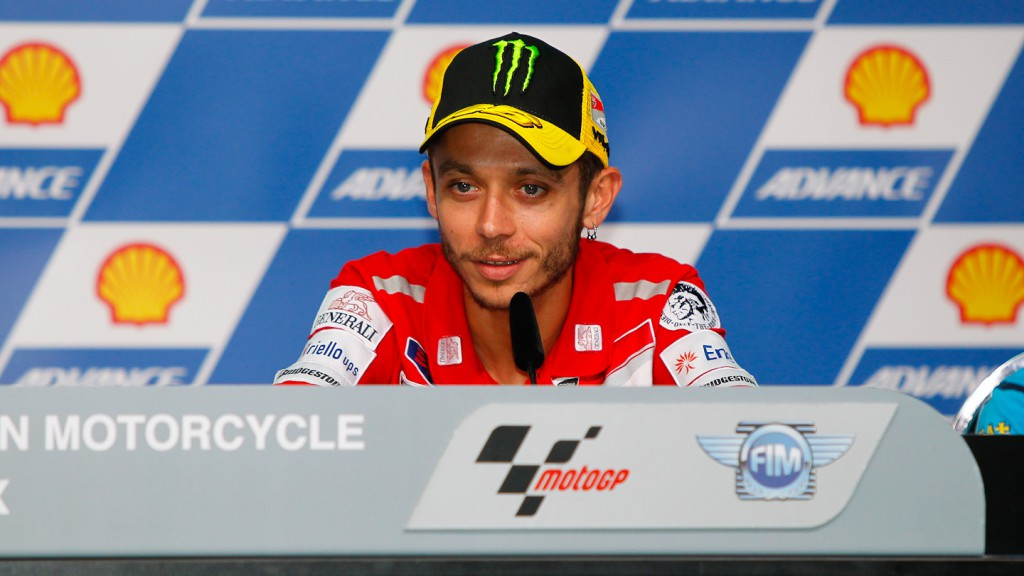 Valentino Rossi, Ducati Team, Shell Advance Malaysian Motorcycle Grand Prix Press Conference