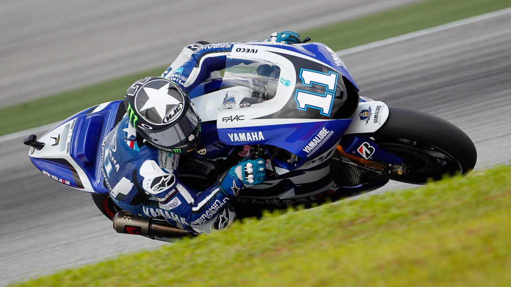 Ben Spies, Yamaha Factory Racing, Sepang FP2