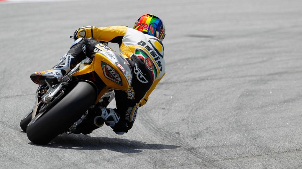Alex de Angelis, JiR Moto2, Sepang FP2