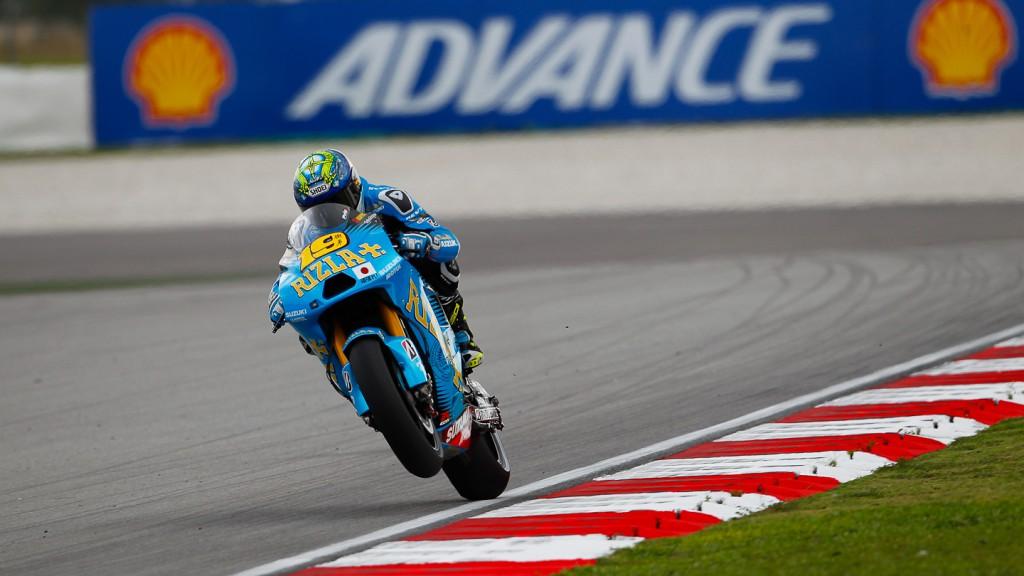 Alvaro Bautista, Rizla Suzuki MotoGP, Sepang FP2