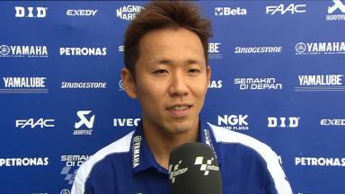 Sepang 2011 - MotoGP - FP2 - Interview - Katsuyuki Nakasuga